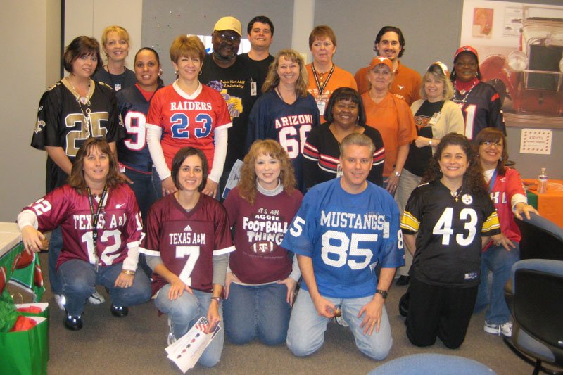 football jersey day